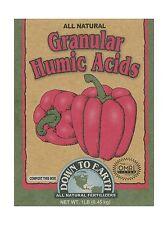 Down To Earth 17827 Granular Humic Acids Fertilizer Mix 1 lb Free Shipping