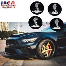 56.5 mm Black Cobra Rim Wheel Center Cover Snake for Mustang Shelby Cobra Series