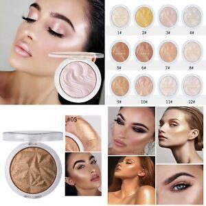 Highlighter Powder 12 Color High Gloss Shimmer Powder Bronzer Beauty Makeup