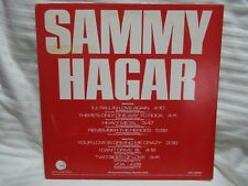 SAMMY HAGAR  PRO-A-2492  PROMO ONLY AUDIOPHILE 1986 LP