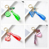 Kpop BLACKPINK TWICE GOT7 SEVENTEEN Logo Key Chain Key Ring Holder Bag Pendant