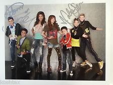 Disney SHAKE IT UP Cast x3 Sign Autograph Photo Adam Roshon Caroline EXACT PROOF