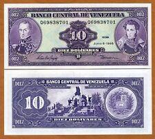 Venezuela, 10 Bolivares, 1995, P-61 (61d), UNC