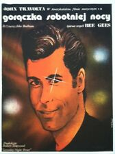"""SATURDAY NIGHT FEVER movie poster Poland original uncoated stock 26"""" x 37.25"""""""