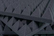 Pannello Fonoassorbente Piramidale 100x100x6 D25 Grigio Antracite - Pacco Da 15