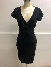 Liu Jo originale abito nero donna tg 44/woman dress