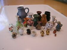 Collection of Miniature Jugs & Other Containers