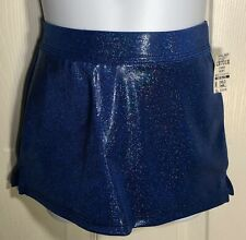 Cheer Gk Child Small Ocean Sparkle Hologram Cheer Skirt Sz Cs Nwt!