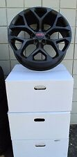 "20"" GMC YUKON SIERRA SUV FACTORY STYLE MATTE BLACK NEW SET OF WHEELS 5668"