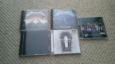 5 x METALLICA CD ALBUMS .  rock punk metal thrash