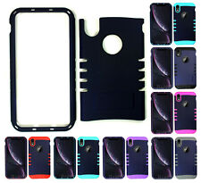For Apple iPhone XR - KoolKase Armor Hybrid Slicone Cover Case - Navy Blue (R)