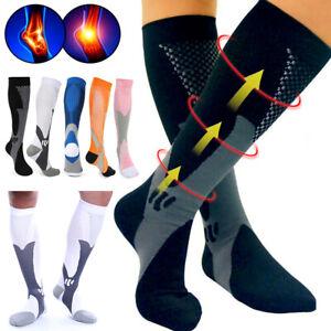 Compression Socks 20-30 mmHg Support - Men Women Medical Nurses Athletic Travel