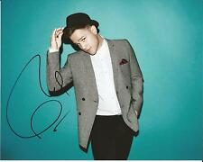Hand Signed 8x10 photo OLLY MURS - Singer Song Writer X FACTOR + my COA