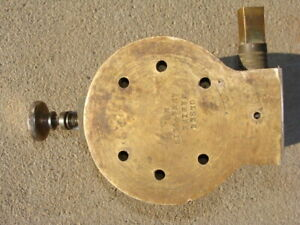 Olsen Marine Wench Pulley Nautical Boat Ship Maritime Port Solid Brass Antique