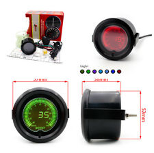 7 Colors 35 Psi  Boost Pressure Gauge PVC Hose LED Indicator Light for Auto Car