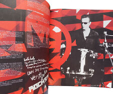U2 TOUR PROGRAMME 2006 Vertigo JAPANESE Tour 34 Page Mint Hard to find