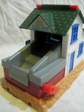Thomas Friends Take Along Gray Plastic Train Track * Sodor Barrel Depot Salty