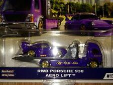 Hot Wheels 2020 Team Transport RWB Porsche 930 & Areo Lift - NIP RealRiders VHTF