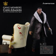 Vortex Toys Yew Series Gang members Carlo Eduardo w/ Sofa 1/12 Figure