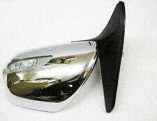 Door Mirror Chrome Manual L.E.D LH For Toyota Landcruiser KDJ120 3.0D D4D 02>On