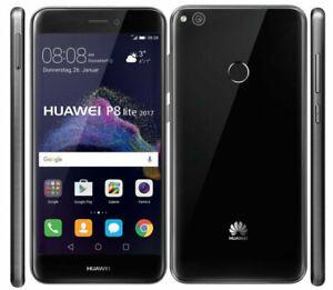 Huawei P8 Lite 2017 Black 16GB Sim Free 4G LTE Android Smartphones BRAND NEW