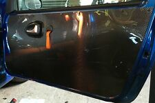 1x RENAULT CLIO SPORT 172 182 MK2 - 1mm CARBON Door Card Panel-Race Track Car *