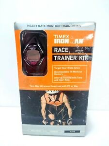 PARTS REPAIR Timex Ironman Race Trainer Elite Interval Heart Rate Monitor Black