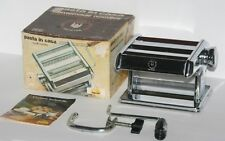 MARCATO Pasta Noodle Maker Machine, Made In Italy, Hand Crank, Model 15-4150