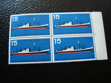 GERMANIA (rfg) - francobollo - yvert e tellier n° 136 x4 n (A5) stamp (A)