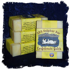 Wisteria _ Confederate Gulch_ SPA Sulphur Mineral Soap Made in Montana_Handmade