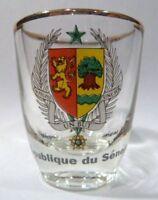 SENEGAL SHOT GLASS SHOTGLASS