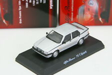 Kyosho 1/64 Alfa Romeo 75 T.Spark Silver Minicar Collection 3 2013 Limited