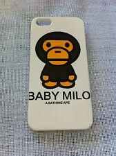 Baby Milo Cartoon Monkey Printed iPhone 5 5s Case for Apple