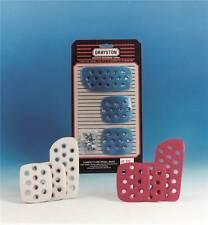 Grayston compétition pédale pads/extensions bleu anodisé