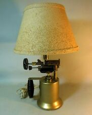 Vintage STEAMPUNK Blow Torch Table Desk Lamp Industrial Machine Age Man Cave