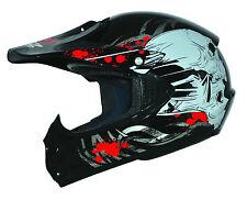 ATO Moto B-Ware Kids Pro Black S 55-56cm Kinder Helm Motorrad Cross Junior