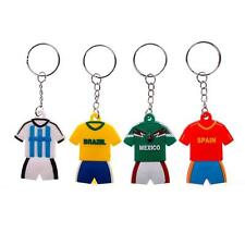 Hot Sale Jersey Patern Country Keychain Collectord World Cup Soccer Team