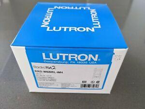 ***NEW *** Lutron RadioRA2 RRD-W6BRL-WH Keypad - White (Radio RA 2 W6BRL)
