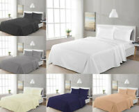 New Flat Sheet Bed Sheet 100% Egyption Cotton 300TC All Sizes