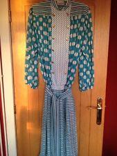 Vintage Retro Kanga Collection Georgette *DRESS* by Dale Tryon London UK 14/16