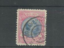 Nederland  47B  Wilhelmina 2,5Gld VFU/gebr  CV 175 €