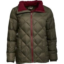 CONVERSE WOMENS LIGHTWEIGHT QUILTED DOWN JACKET - GRAPE LEAF – SMALL (6-8) - NEW