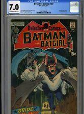 Detective Comics #407 January, 1971 CGC 7.0 FN-VF Man-Bat