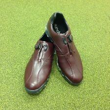 NEW Adidas Adipure Ray Boa Leather Golf Shoes - UK Size 8.5 - US 9 - EU 42 2/3