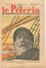 Portrait Vieux Loup de Mer Marin-Pêcheur Bateau de Pêche Fishing Boat  1938