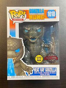 Funko Pop Heat Ray Godzilla Glow In Dark #1018 Special Edition Exclusive IN HAND