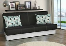 BEDROOM SOFA BED 3 SEATER WITH STORAGE COMFORTABLE / MODERN DESIGN / WERSALKA