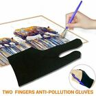 Drawing  Pen Graphic Tablet Pad Size Free Black Hand Left Right Artist Glove