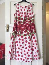 Midi A-Line Dress Women's 1950s Look
