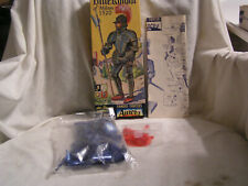 Complete And Unbuilt Aurora Made Blue Knight Of Milan 1520 Model Kit In Box